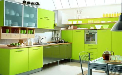 Интерьер кухни 12 кв