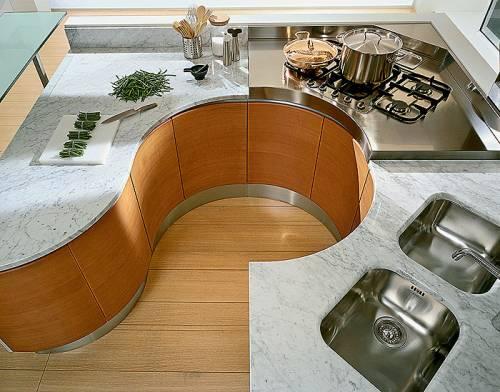 Встроенные кухни своими руками фото